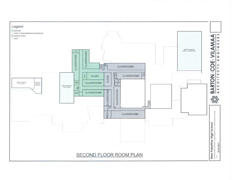 NPHS Second Floor Design